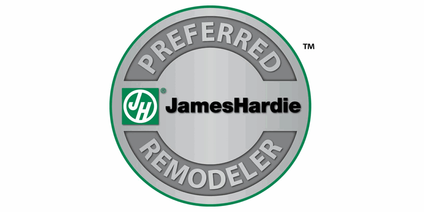 Capitol Improvements is a James Hardie Certified Installer