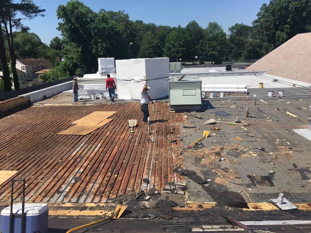 Flat Roof Replacement Company Near Me